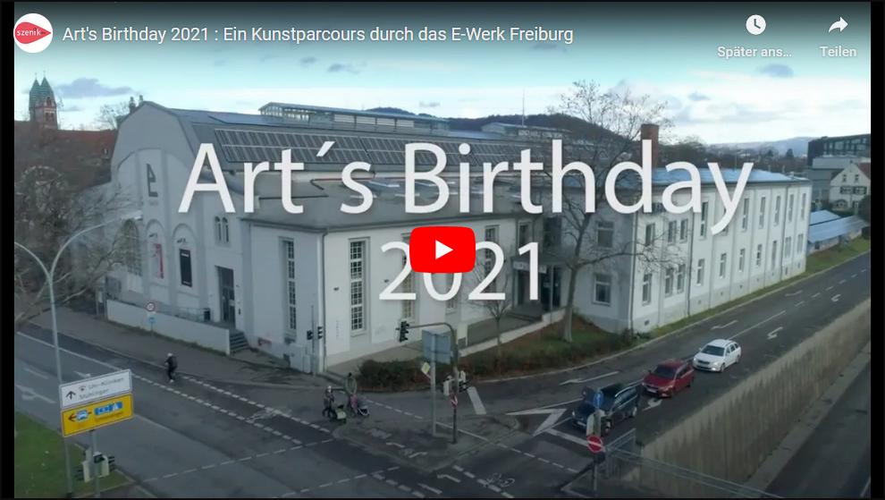 Online-Stream Art`s Birthday